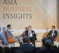 Asia Business Insights 28.02.2018, Stephan Scheuer mit Bernhard Kemper und Joachim von Amsberg