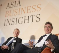Asia Business Insights 28.02.2018,  Bernhard Kemper und Joachim von Amsberg