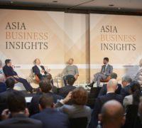 Asia Business Insights 28.02.2018, Stephan Scheuer im Gespräch mit Dr. Jost Wübbeke, Dr. Frank Stieler und Hannes Streeck