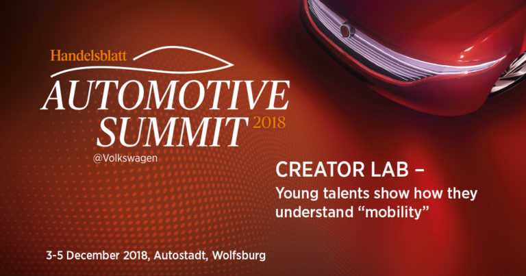 """Creator Lab: Young talents show how they understand """"mobility"""""""