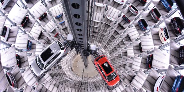 Autotürme der Autostadt