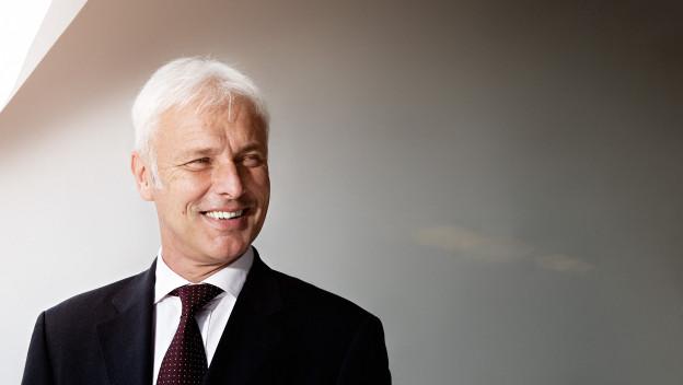 Matthias Müller wird neuer VW Chef