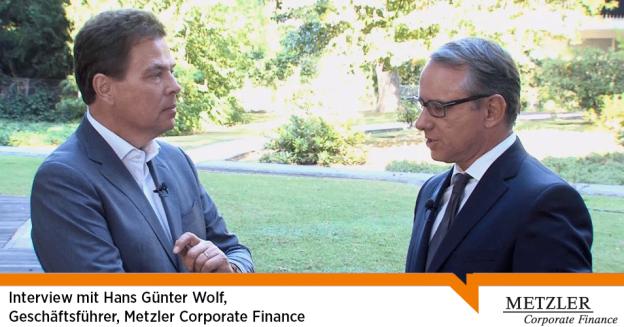 Interview mit Hans Günter Wolf (Geschäftsführer, B. Metzler GmbH)