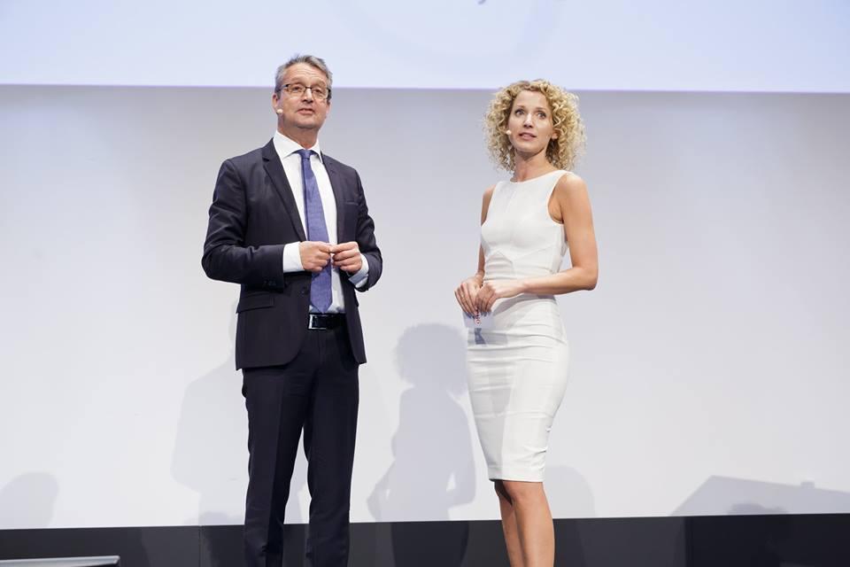 Gabor Steinbart, Aline von Drateln, Handelsblatt Auto-Gipfel 2016
