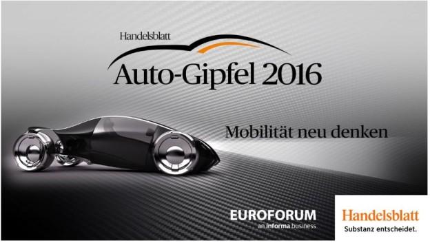 Videorückblick zum Auto-Gipfel 2016 in München