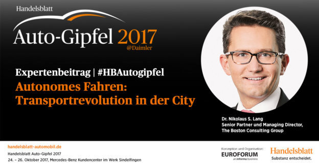 Autonomes Fahren: Transportrevolution in der City