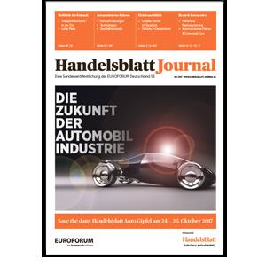 Handelsblatt Journal – Die Zukunft der Automobilindustrie