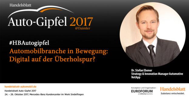 Dr. Stefan Ebener, NetApp