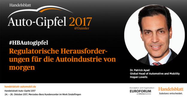 Regulatorische Herausforderungen für die Autoindustrie von morgen