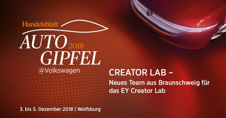 Neues Team aus Braunschweig für das EY Creator Lab