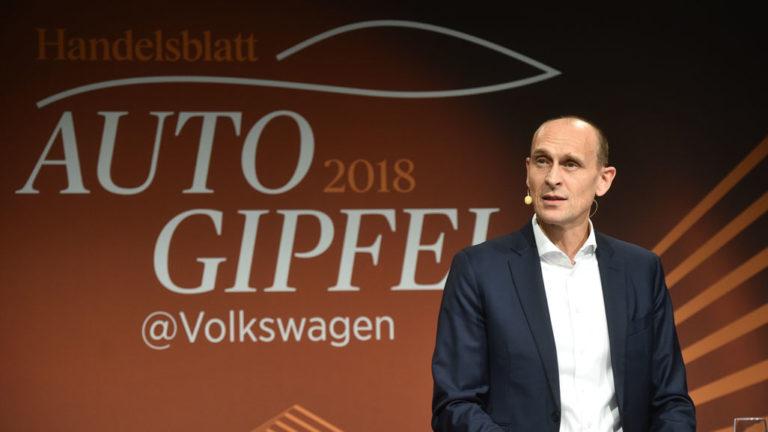 Ralf Brandstätter, Chief Operating Officer und Mitglied des Vorstands der Marke Volkswagen Pkw für den Geschäftsbereich Beschaffung