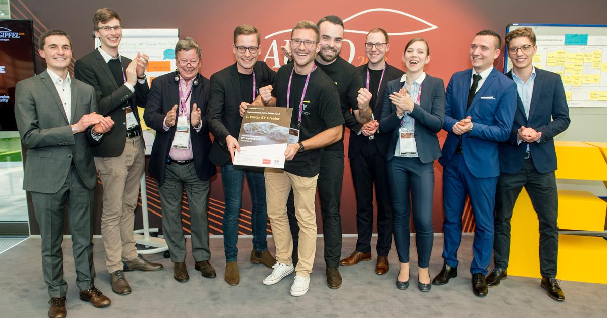 Die Gewinner des EY CREATOR LAB 2018