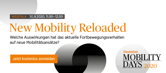 Webtalk New Mobility Reloaded