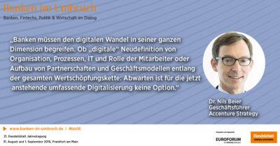 Dr. Nils Beier, Geschäftsführer, Accenture Strategy