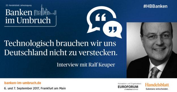 """""""Technologisch brauchen wir uns Deutschland nicht zu verstecken."""" – Interview mit Ralf Keuper"""