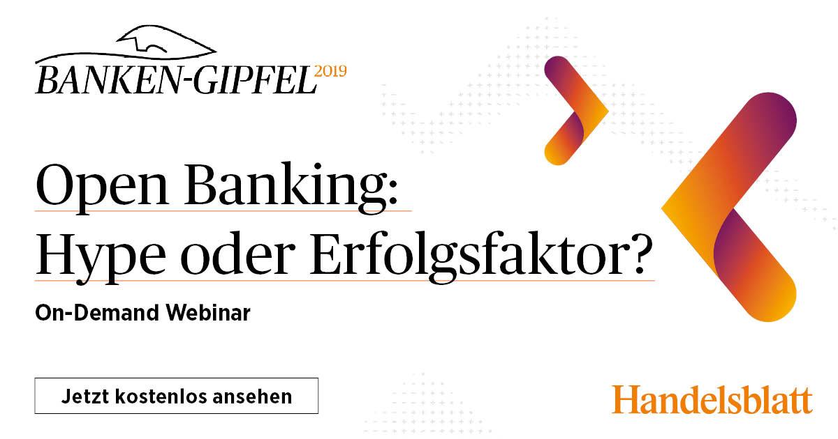 Webinar Open Banking