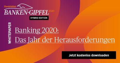 Whitepaper Banking 2020: Das Jahr der Herausforderungen