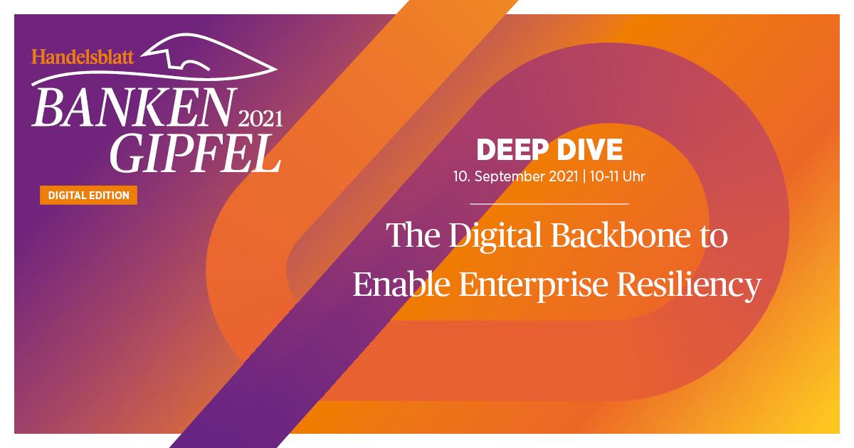 The Digital Backbone to Enable Enterprise Resiliency