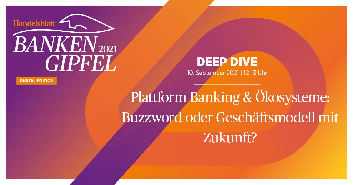 Plattform Banking & Ökosysteme: Buzzword oder Geschäftsmodell mit Zukunft?