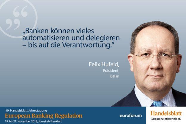 Felix Hufeld, BaFin, Referent European Banking Regulation