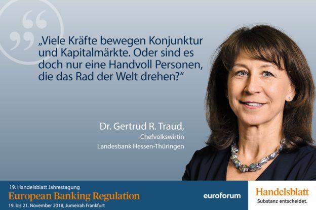 Dr. Gertrud R. Traud, Helaba, Referentin Bankenaufsicht