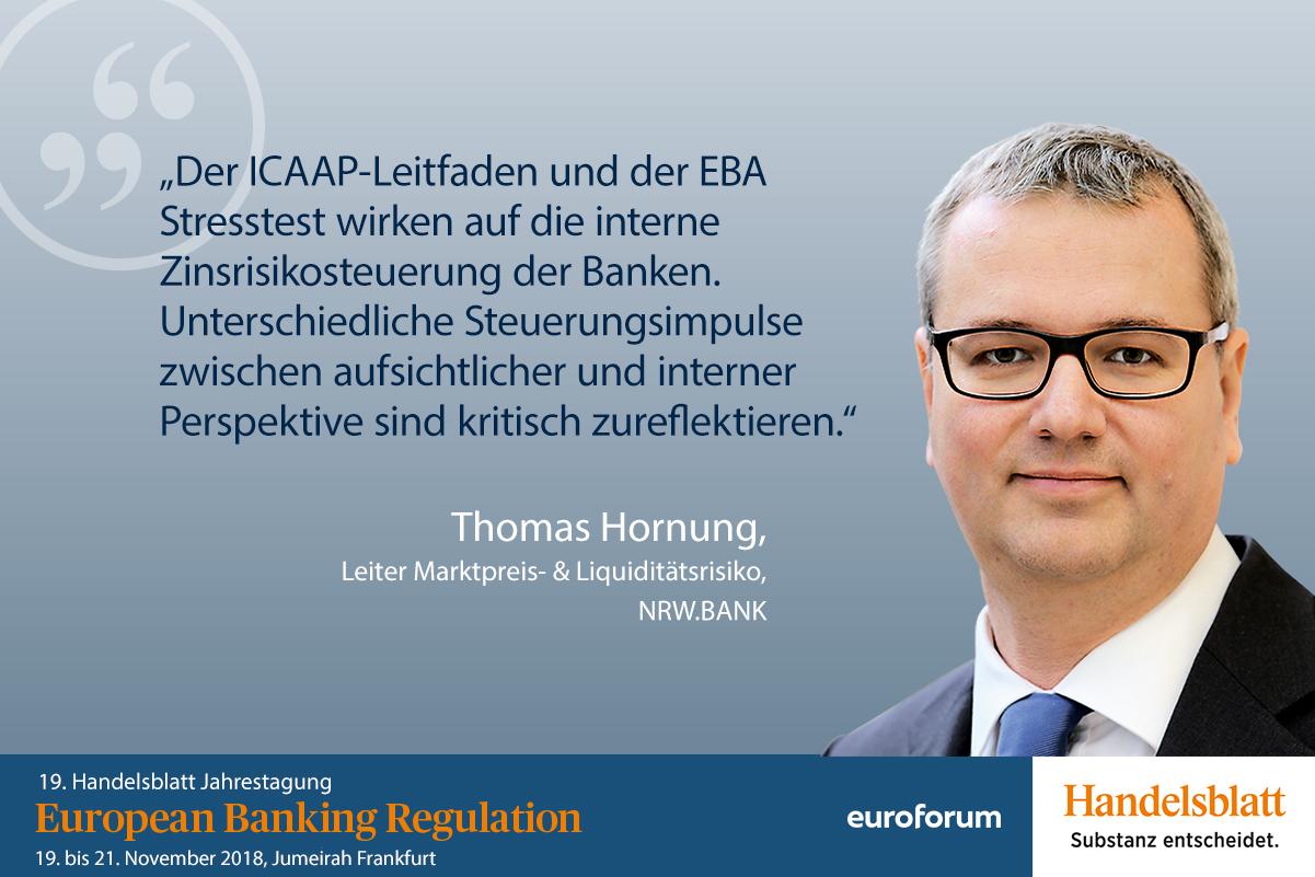 Thomas Hornung, NRW.BANK, Referent Bankenaufsicht