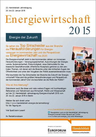 Energiewirtschaft news