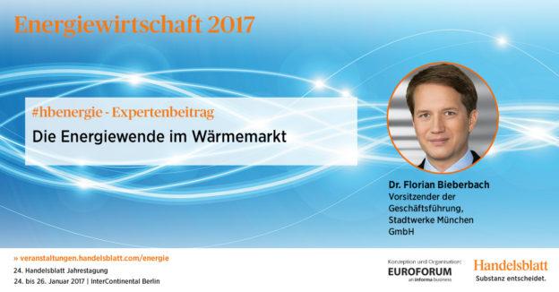 Die Energiewende im Wärmemarkt | #hbenergie-Expertenbeitrag von Dr. Florian Bieberbach (Stadtwerke München)
