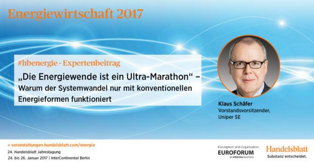 """""""Die Energiewende ist ein Ultra-Marathon"""""""