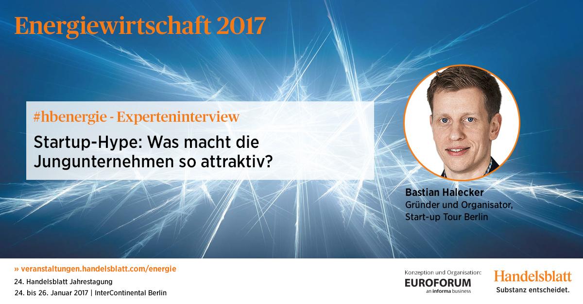 Bastian Halecker Gründer und Organisator, Start-up Tour Berlin
