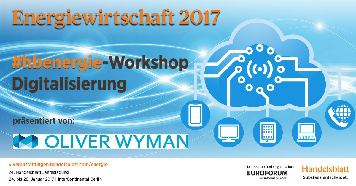 Oliver Wyman Workshop Digitalisierung 2017