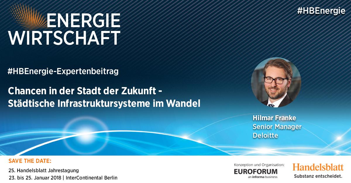 Chancen in der Stadt der Zukunft | #HBEnergie-Expertenbeitrag von Hilmar Franke