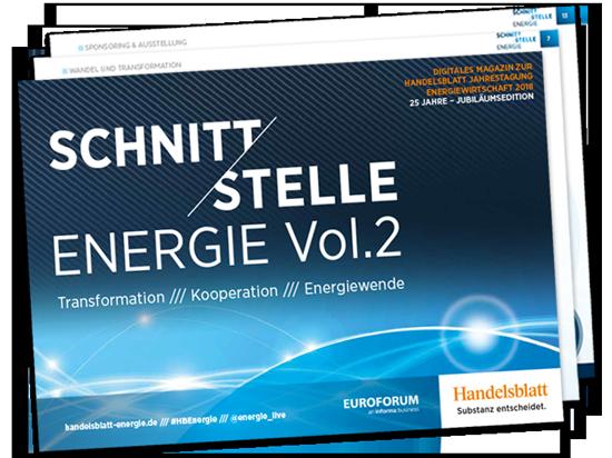 Schnittstelle Energie Vol. 2 – Interaktive Insights zur Energiewirtschaft