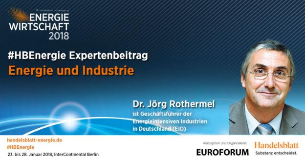 Titelbild: Energie und Industrie | #HBEnergie-Interview mit Dr. Jörg Rothermel (EID)