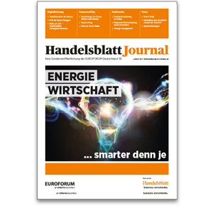 Titelseite des Handelsblatt Journal Energiewirtschaft 08/2017