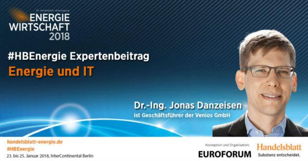Titelbild: Energie und IT | #HBEnergie-Interview mit Dr.-Ing. Jonas Danzeisen