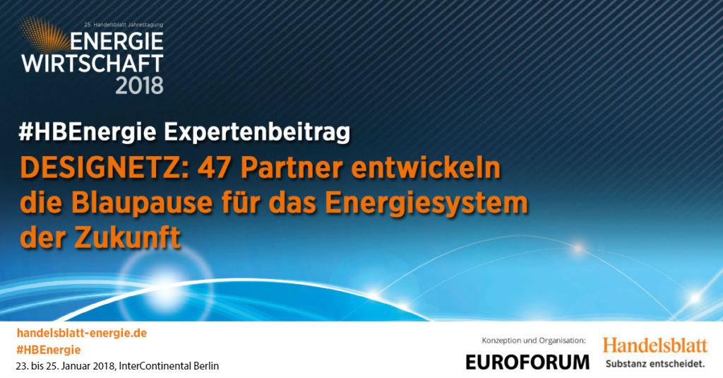 DESIGNETZ: 47 Partner entwickeln die Blaupause für das Energiesystem ...