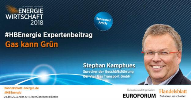 Titelbild: Gas kann Grün | #HBEnergie-Expertenbeitrag von Stephan Kamphues