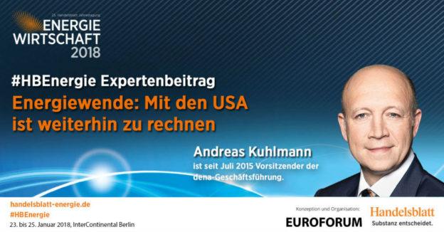 Titelbild: Energiewende: Mit den USA ist weiterhin zu rechnen   #HBEnergie-Interview mit Andreas Kuhlmann
