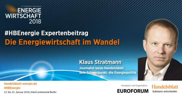 Titelbild: Die Energiewirtschaft im Wandel | #HBEnergie-Expertenbeitrag von Klaus Stratmann