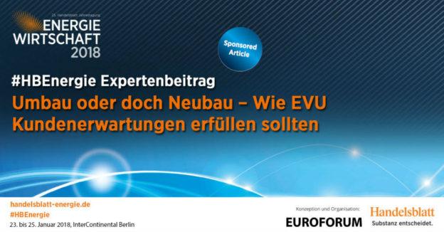 Titelbild: Umbau oder doch Neubau – Wie EVU Kundenerwartungen erfüllen sollten