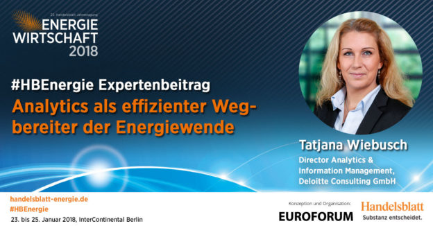 Titelbild: Analytics als effizienter Wegbereiter der Energiewende | #HBEnergie-Expertenbeitrag von Tatjana Wiebusch