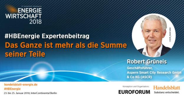 Beitragsbild: Das Ganze ist mehr als die Summe seiner Teile   #HBEnergie-Expertenbeitrag von Robert Grüneis