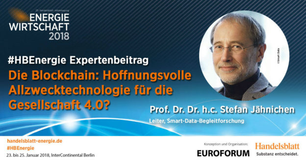 Beitragsbild: Die Blockchain   #HBEnergie-Expertenbeitrag von Prof. Dr. Dr. h.c. Stefan Jähnichen