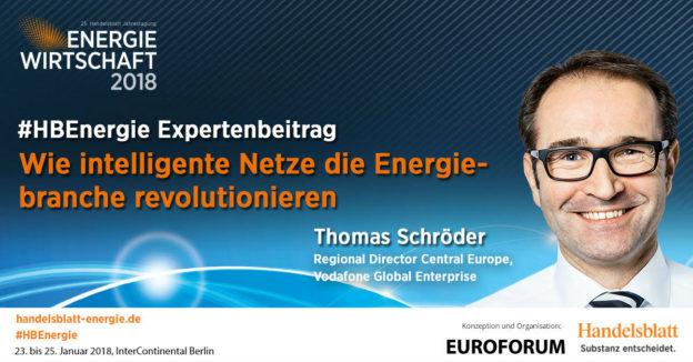 Beitragsbild: Wie intelligente Netze die Energiebranche revolutionieren | #HBEnergie-Expertenbeitrag von Thomas Schröder