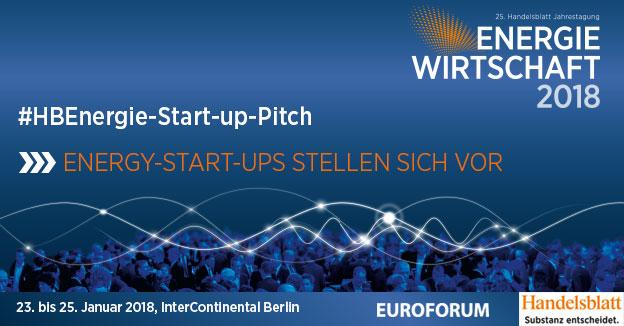 Start-up-Pitch: ausgewählte Energy-Start-ups stellen sich vor