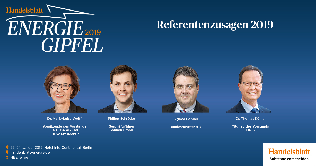 Top Referentenzusagen 2019