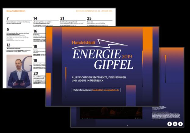 Konferenzreport: Energie-Gipfel 2019