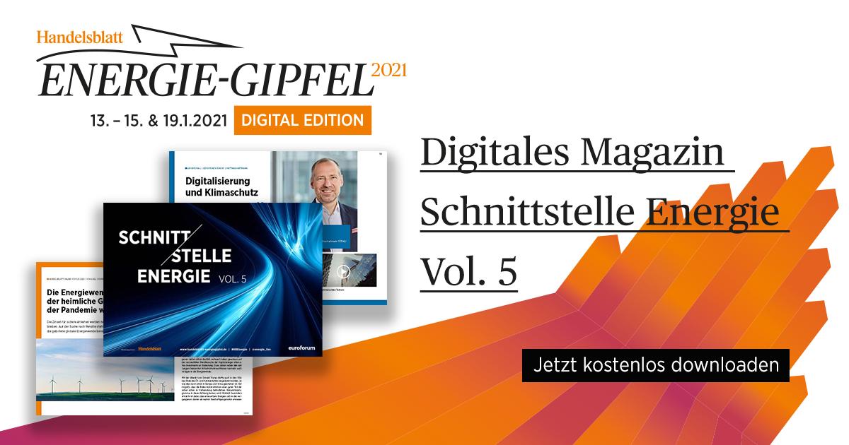 """Digitales Magazin """"Schnittstelle Energie Vol. 5"""