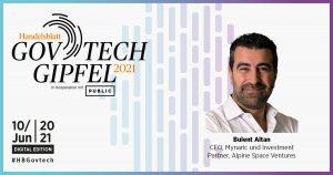 Kurzinterview Bulent Altan, CEO, Mynaric und Investment Partner,Alpine Space Ventures